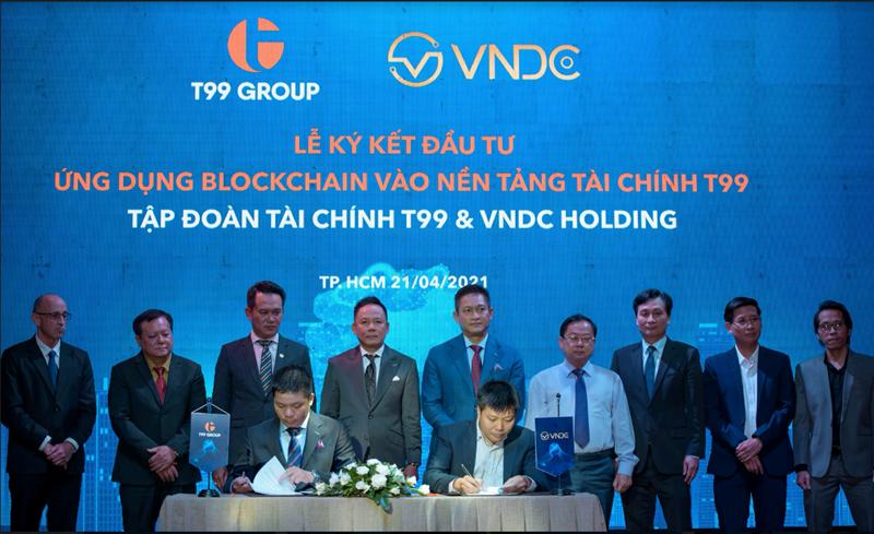Hợp tác Liên doanh Đầu tư phát triển sản phẩm tài chính điện tử của T99 tại sự kiện ngày 21/04/2021 tại TP. Hồ Chí Minh vừa qua