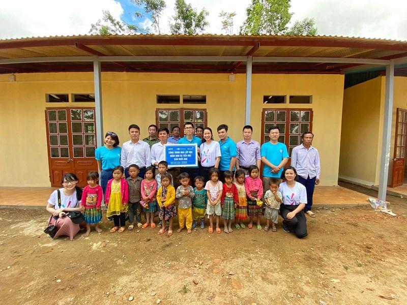 Đóng góp của MB Ageas Life tại các điểm trường tại Lục Yên, Yên Bái hay Sốp Cộp, Sơn La đã mang lại ánh sáng cho nhiều trẻ em vùng cao.