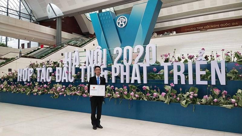 Ông Terue Shimmen, thành viên Hội đồng Quản trị Tập đoàn Bảo Việt tại buổi lễ.