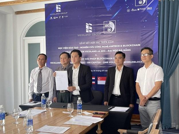 Ông Hồ Hoàng Nam - Tổng giám đốc VDAS (trực thuộc Vicoland Group) - Đại diện ký kết MoU tại sự kiện trực tuyến ngày 20/07/2021.
