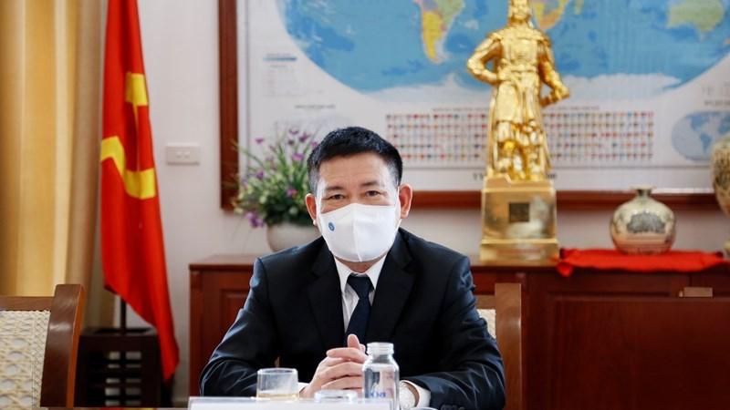 Bộ trưởng Bộ Tài chính Hồ Đức Phớc.