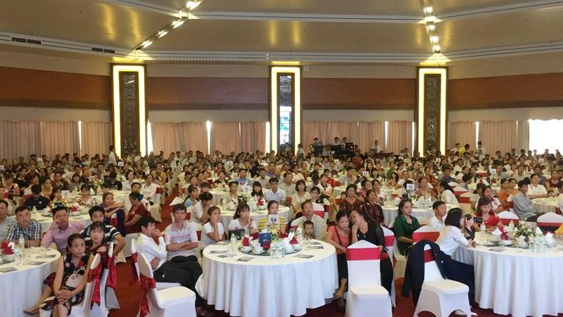 Bảo Việt Nhân thọ chào đón hơn 1.000 khách hàng tham gia chương trình.