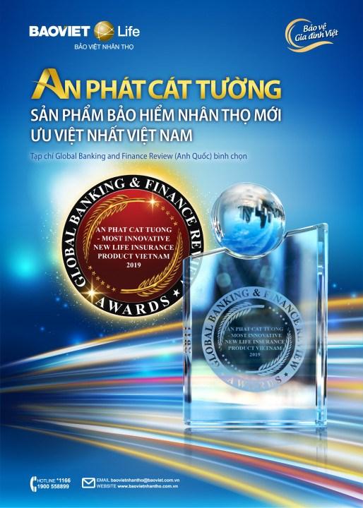 An Phát Cát Tường - Sản phẩm bảo hiểm nhân thọ mới ưu việt nhất Việt Nam 2019.