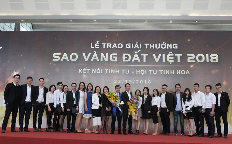 FSI chính thức đón nhận cúp vàng và chứng nhận thương hiệu Sao vàng Đất Việt 2018