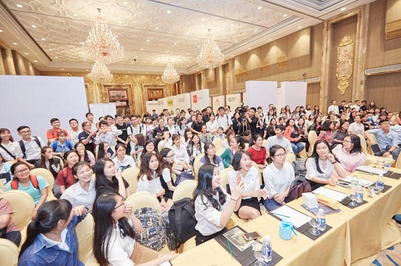 Các bạn sinh viên đã rất phấn khởi tham dự Buổi Phổ biến Thông tin Trở thành Hội viên CPA Úc tại Sự kiện 'CPA Australia Careers 2017' tại Tp.HCM vào 30/09 vừa qua.