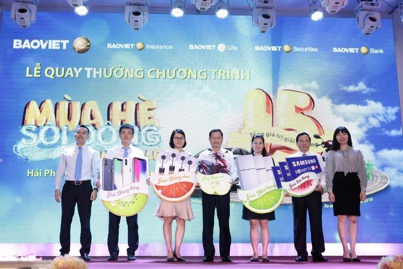 Lễ quay thưởng đợt 1 tổ chức tại Hải Phòng xác định chủ nhân của 241 giải thưởng có giá trị.