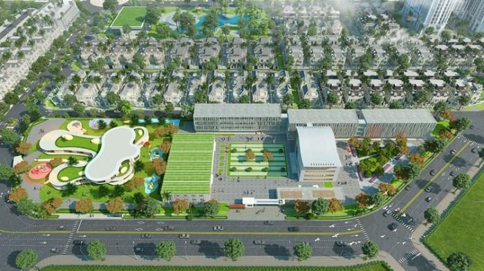Hệ thống trường học tại dự án Anlac Green Symphony.
