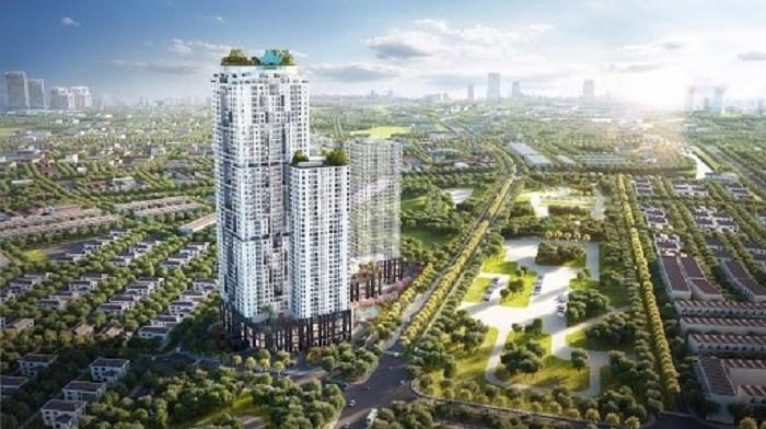 Phối cảnh dự án BID Residence tọa lạc đắc địa mặt đường Tố Hữu.