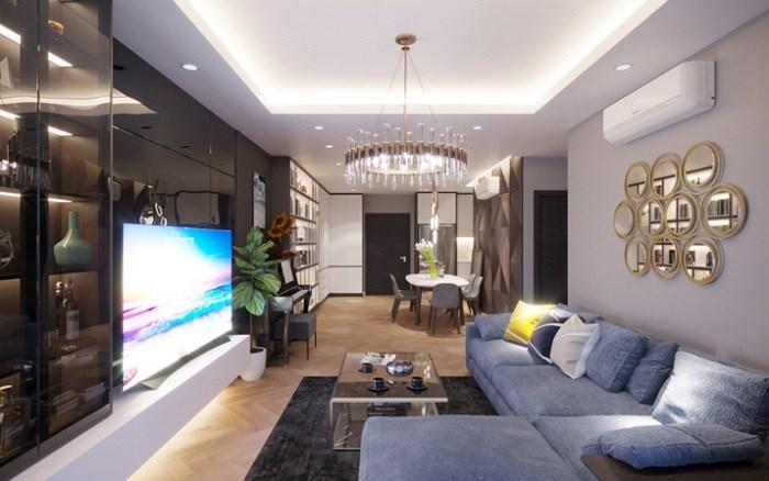 Căn hộ TSG Lotus Long Biên được bố trí 2-3 phòng ngủ với ban công rộng lớn và tầm view đắt giá.