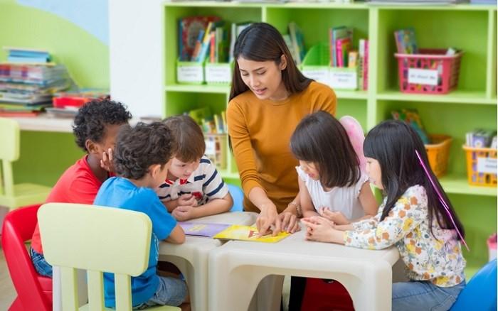 Theo dự kiến, trường mầm non trong nội khu dự án TSG Lotus Long Biên sẽ thuộc hệ thống Sakura Montessori.