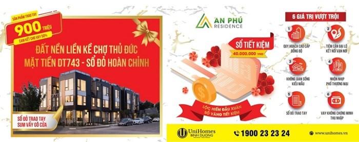 Thuận An lên thành phố, thị trường đất nền nhà phố hưởng lợi - Ảnh 1