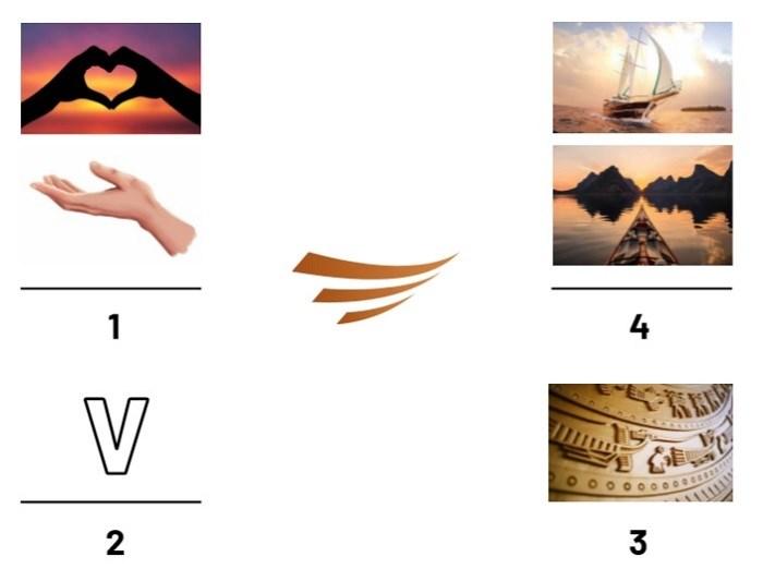 Logo mới của Văn Phú - Invest có tính biểu trưng, đa nghĩa.