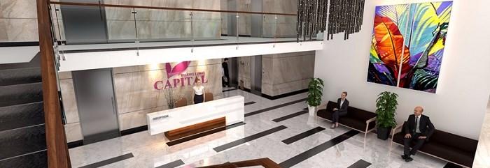 Sảnh căn hộ dự án Thăng Long Capital Premium