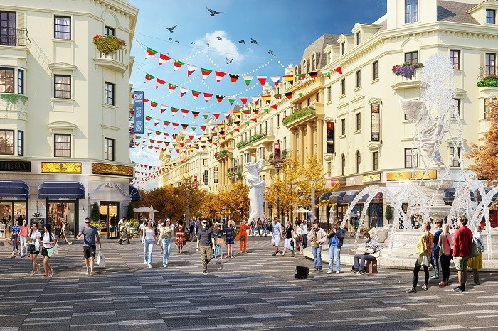 Điểm đến giải trí, mua sắm sầm uất mới tại vịnh Hạ Long