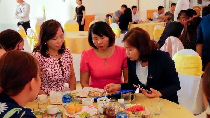 Tại Lễ công bố KĐT Hoàng Thành Kon Tum, 100% bảng hàng ra đợt 1 đã được đặt mua