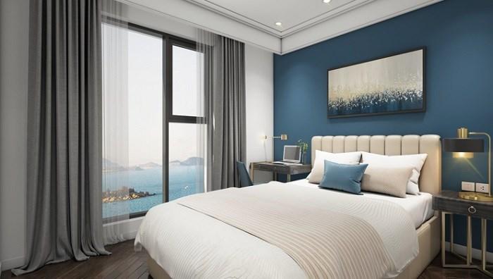 100% căn hộ Luxury Quy Nhơn đều có view biển và thành phố vô cùng ngoạn mục.