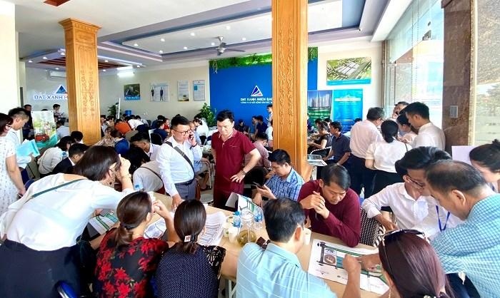 Mục sở thị buổi café cuối tuần tư vấn thông tin dự án Green City Thanh Hóa diễn ra khá sôi động.