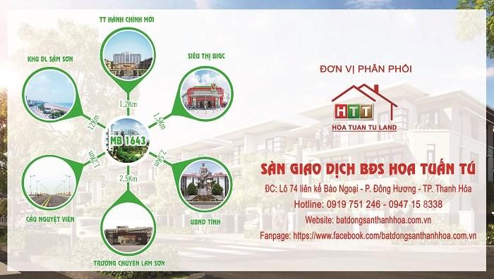 Dự án khu đô thị số 03 + 04 phố Lễ Môn, phường Đông Hải có vị trí giao thông thuận lợi.