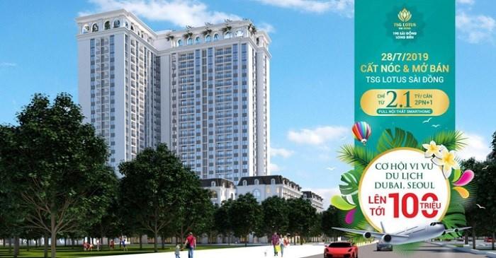 Dự án TSG Lotus Sài Đồng tri ân khách hàng với gói du lịch lên tới 100 triệu đồng