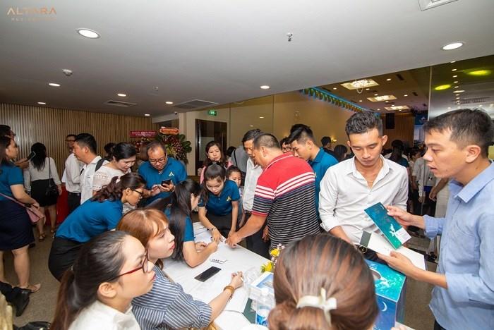 Các sự kiện mở bán của Altara Residences Quy Nhơn luôn nhận được rất nhiều sự quan tâm của khách hàng