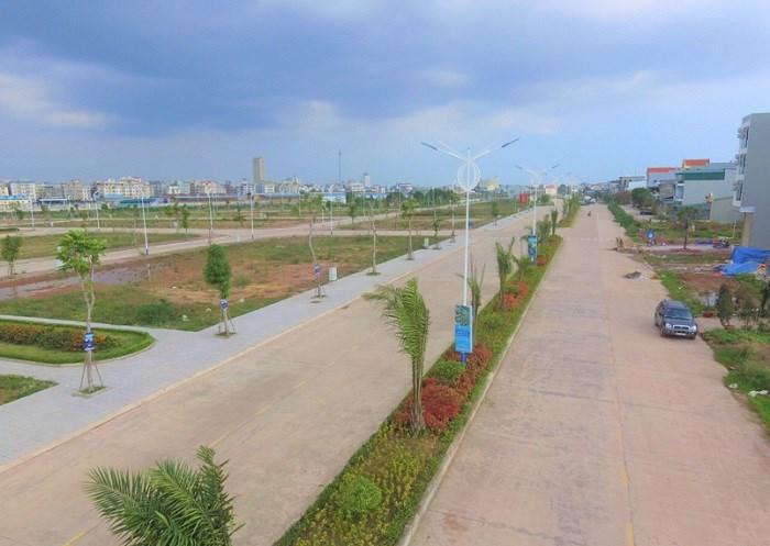 Hạ tầng đã hoàn thiện 100% tại phân khu Kalong Center City