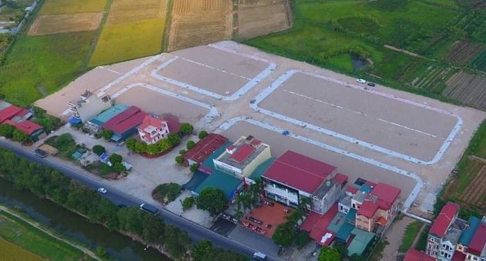Dự án đất nền Ngã tư trạm bóng Quang Minh – Gia Lộc.