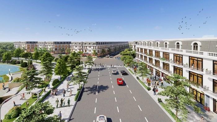Phối cảnh Khu đô thị Thương mại Dịch vụ & Nhà ở cao cấp Vĩnh Yên Center City.