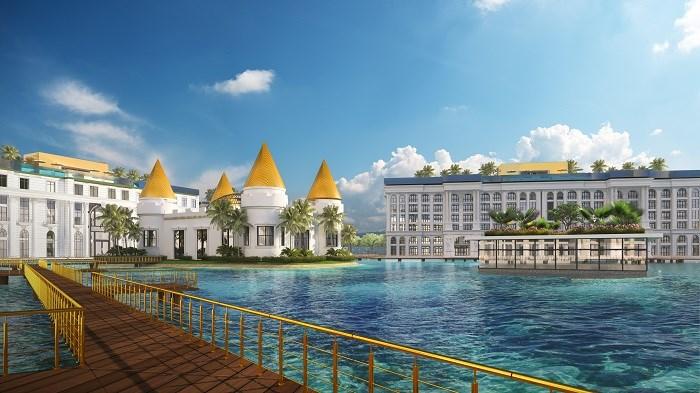 Hình ảnh bể bơi tại dự ánHội An Golden Sea. (Ảnh minh họa).