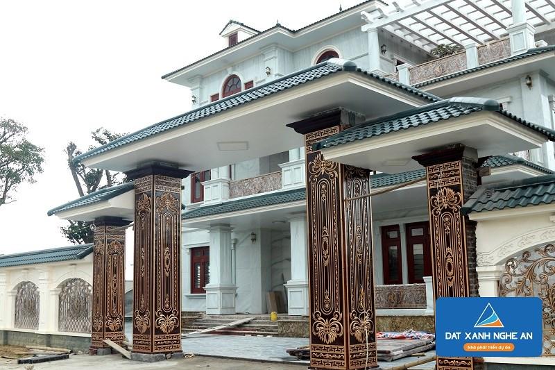Chủ nhân Khu đô thị Nam Lê Lợi sở hữu nhiều căn biệt thự lộng lẫy có diện tích lớn và thiết kế hiện đại