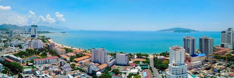 View biển Nha Trang tuyệt đẹp từ tầng 20 dự án Ocean Gate