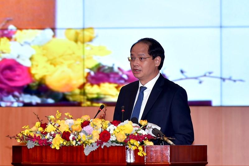 Ông Nguyễn Doãn Toản, Phó Chủ tịch UBND TP. Hà Nội chia sẻ về công tác thu, chi ngân sách trên địa bàn.