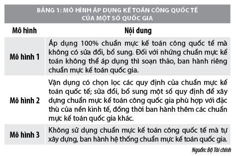 Áp dụng chuẩn mực kế toán công tại Việt Nam  - Ảnh 1