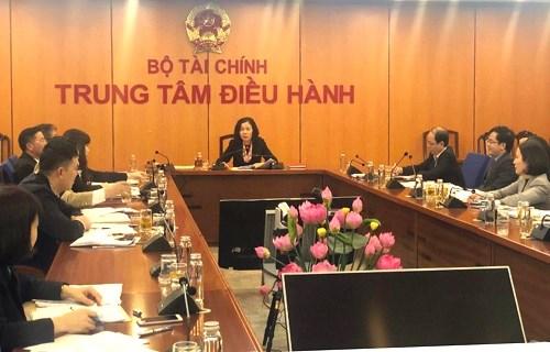Thứ trưởng Bộ Tài chính Vũ Thị Mai chủ trì cuộc họp triển khai Đề án Cải cách mô hình kiểm tra chất lượng, kiểm tra an toàn thực phẩm đối với hàng hóa nhập khẩu.