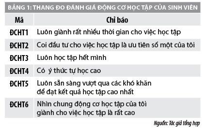 Nghiên cứu về động cơ học tập của sinh viên tại các trường đại học Việt Nam - Ảnh 1