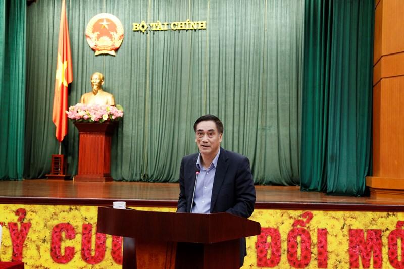 Thứ trưởng Trần Xuân Hà bày tỏ sự nhất trí cao về việc giới thiệu Ủy viên Bộ Chính trị, Bộ trưởng Bộ Tài chính Đinh Tiến Dũng tham gia ứng cử Đại biểu Quốc hội khóa XV.