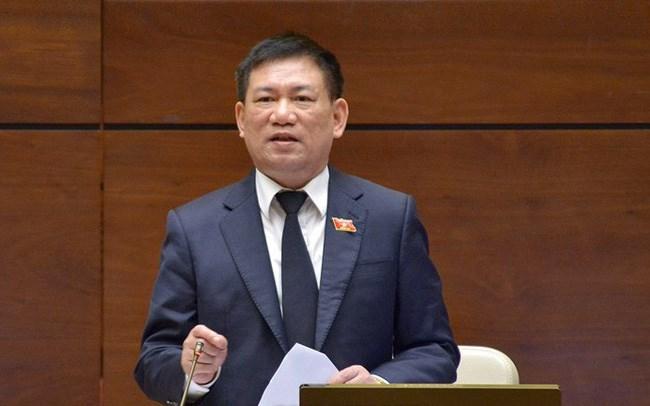 Tân Bộ trưởng Bộ Tài chính Hồ Đức Phớc. Nguồn: internet