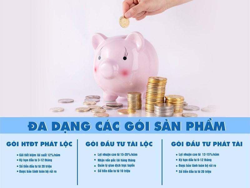 Sự đa dạng gói đầu tư của hình thức P2P Lending cũng là một trong những ưu điểm không thể bỏ qua.
