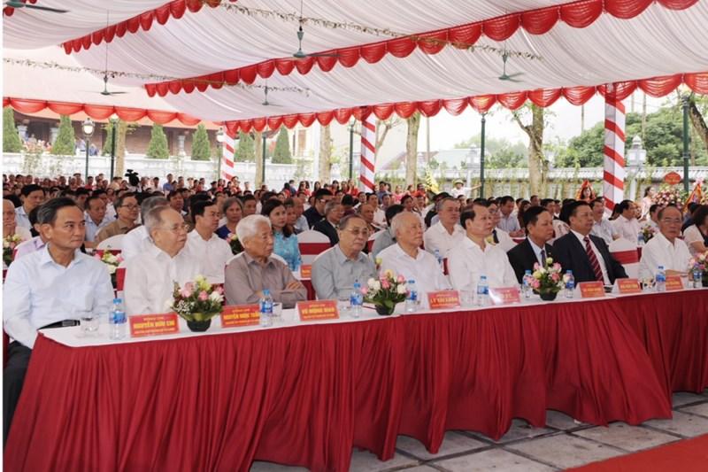 Các đại biểu tham dự buổi lễ. Nguồn: MOF