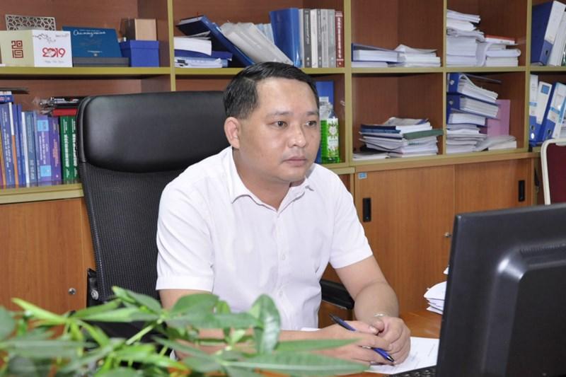 Ông Trịnh Đức Vinh.