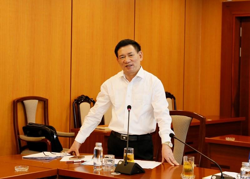 Bộ trưởng Hồ Đức Phớc biểu dương các thành tích Tạp chí Tài chính và Thời báo Tài chính Việt Nam đã đạt được trong thời gian vừa qua.