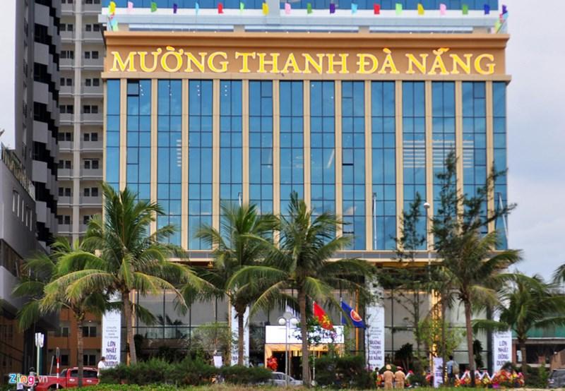 Tổ hợp khách sạn Mường Thanh là một trong những dự án được xác định có sai phạm tại Đà Nẵng. Ảnh:Đắc Đức.