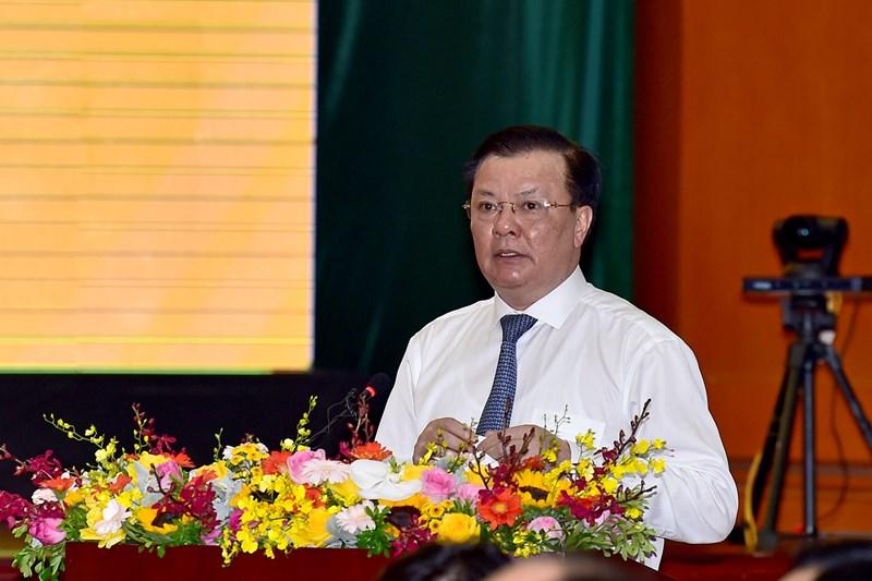 Bộ trưởng Bộ Tài chính Đinh Tiến Dũng báo cáo kết quả công tác tài chính - ngân sách 6 tháng đầu năm và triển khai nhiệm vụ 6 tháng cuối năm 2020.