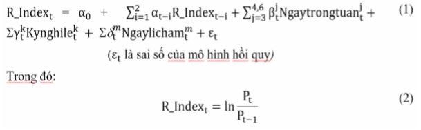 Tỷ suất sinh lợi của VN-Index và HNX-Index vào những ngày đầu tháng âm lịch - Ảnh 2