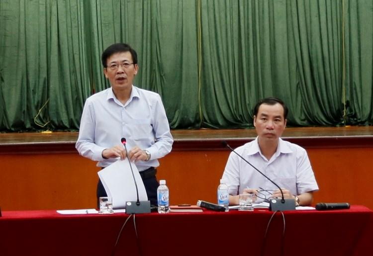 Ông La Văn Thịnh, Cục trưởng Cục Quản lý công sản giới thiệu những nội dung cơ bản của Nghị định số 69/2019/NĐ-CP.