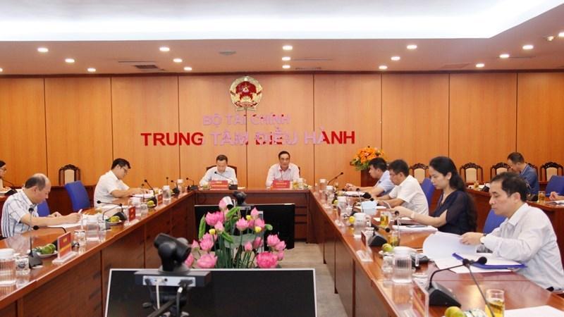 Thứ trưởng Bộ Tài chính Trần Xuân Hà chủ trì hội nghị với các bộ, ngành về giải ngân vốn đầu tư công nguồn vay nước ngoài của Chính phủ 8 tháng đầu năm 2020.