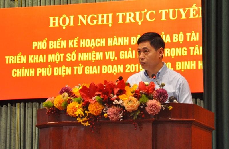Ông Nguyễn Thành Phúc - Cục trưởng Cục Tin học hóa (Bộ Thông tin và Truyền thông) khẳng định, Bộ Tài chính là Bộ tiên phong trong triển khai nghiêm túc, bài bản các chủ trương mới của Chính phủ về Chính phủ điện tử.