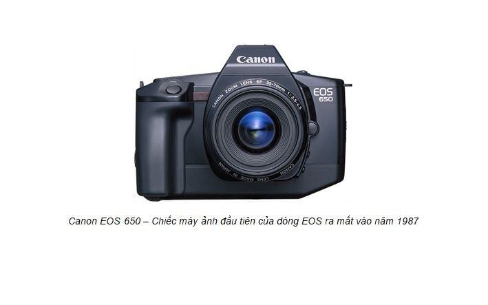 Canon vượt mốc 100 triệu máy ảnh dòng EOS dùng ống kính chuyển đổi - Ảnh 1