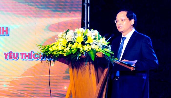 Phó Chủ tịch UBND Thành phố Hà Nội Nguyễn Doãn Toản phát biểu khai mạc Chương trình.