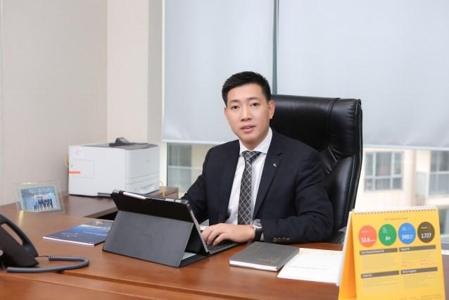 Ông Nguyễn Đức Hoàn, Tổng Giám đốc Công ty Cổ phần Chứng khoán KB Việt Nam