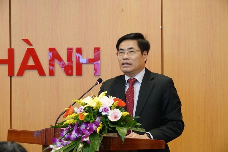 Ông Trương Hùng Long, Cục trưởng Cục Cục Quản lý nợ và Tài chính đối ngoại chủ trì Hội nghị trực tuyến với các địa phương về thúc đẩy giải ngân vốn đầu tư công nguồn vay nước ngoài.